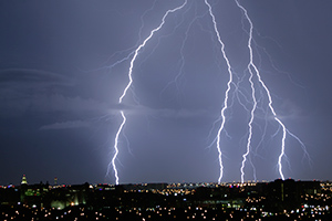 Help reduce risks during lightning storms