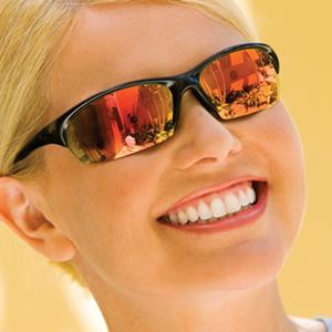 Choose N-Specs® Axel® Sport safety glasses for comfortable, stylish protection