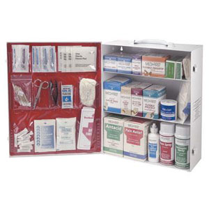Quickly access first aid supplies with a Medi-First® Medique® cabinet