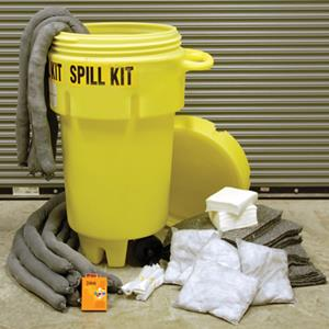 "Contain spills and safeguard the environment with NS® ""Go Green"" spill kit"