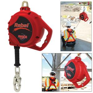 Protecta® Rebel™ 420 lb. capacity self-retracting lifeline supports workers and gear