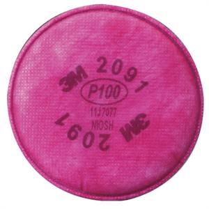 3M P100 pancake filters provide higher level of protection