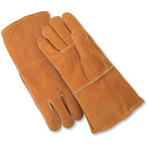 NS® premium russet cowhide welding gloves offer superior safety and comfort
