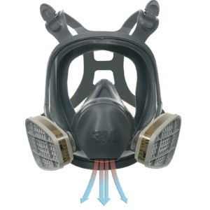 3M 6000 Series Full Facepiece Respirator provides safety as well as comfort