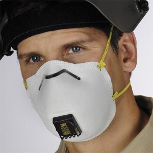 Guard against harmful welding fumes with 3M 8515 N95 disposable respirator