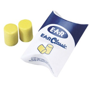 3M Classic™ ear plugs limit harmful noise