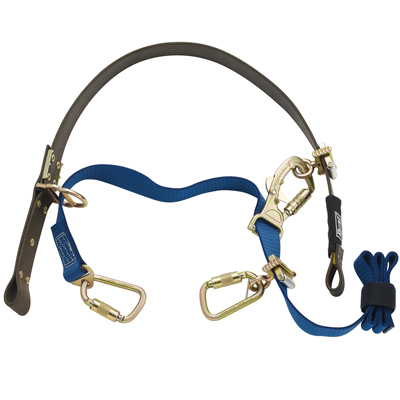 Developed with help from real pole climbers – the DBI SALA® Cynch-Lok™ delivers