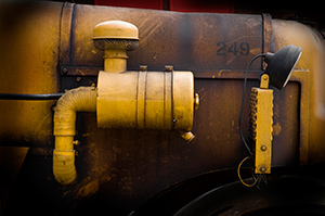 Controlling the hazards of diesel exhaust