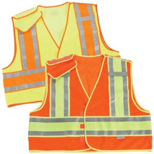 ANSI/ISEA 207-2011 safety vests meet FHWA requirements for work zones