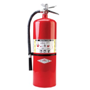 Convenient, multi-purpose Amerex® 20 lb. dry chemical fire extinguisher