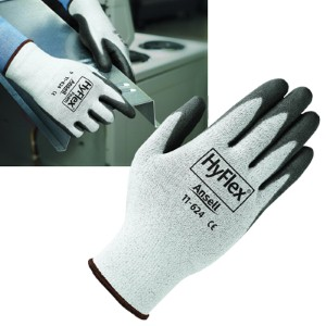 Ansell HyFlex® Lightweight Dyneema® gloves provide all-day comfort