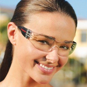 Be stylish at work with Riptide Sport clear lens safety glasses