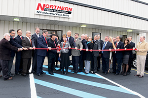Northern Safety hosts ribbon cutting for new customization business