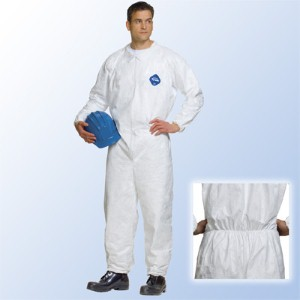 Disposable DuPont™ Tyvek® coveralls deliver comfort and safety