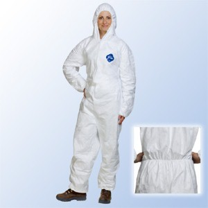 Disposable coveralls provide comfortable protection in any environment