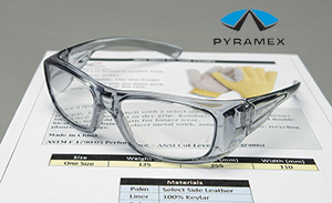 New! Pyramex™ Emerge full magnifying lens safety glasses