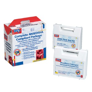 First Aid Only™ kit that exceeds OSHA standards