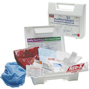 Protect workers providing CPR and biohazard cleanups with the right kit