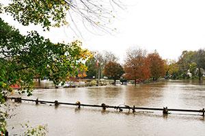 Help flood cleanup workers avoid dangers