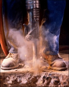 It's dangerous - crystalline silica exposure