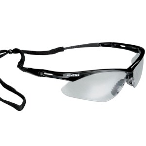 Durable lenses deliver excellent eye protection
