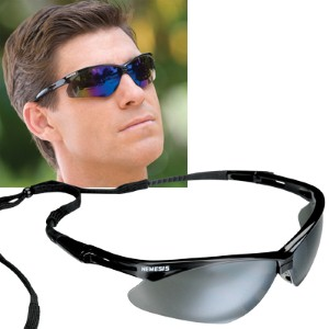 Provide comfortable eye protection with stylish Nemesis® safety glasses