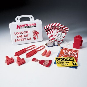 Keep workers safe from accidents with this lockout tagout kit