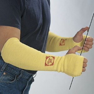 Sleeve provides protection against incidental contact