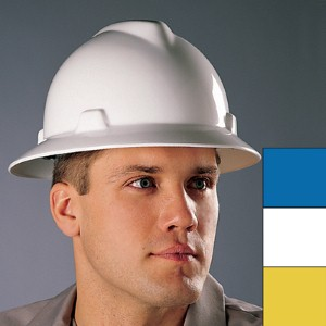 Help reduce workplace injuries with MSA V-Gard® hard hats