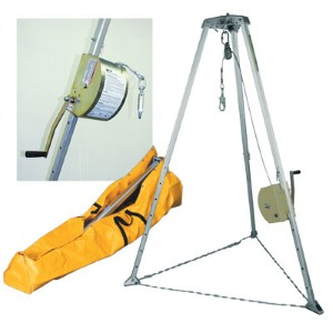 Miller ManHandler™ and tripod system helps ensure safety for confined space workers
