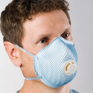Moldex 2300 Standard Shape N95 Disposable Particulate Respirator with Exhalation Valve gives workers extra protection