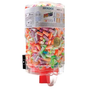 Earplug dispensers make for convenient access to safety supplies
