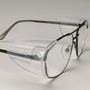 N-Specs® Premium Side shields make eye glasses a quick and convenient safety device