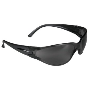 N-Specs® Raptor® safety glasses with gray lenses are perfect in the summer sun