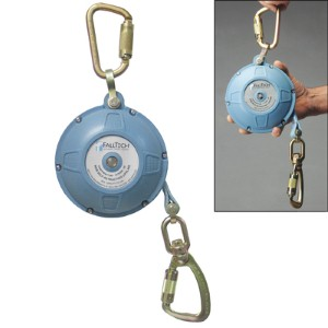 Self-retracting lifeline offers durable, lightweight safety option