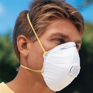 NS® 7511 N95 disposable particulate respirator with exhalation valve protects workers