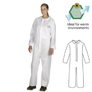 Offer great protective clothing for warm work environments