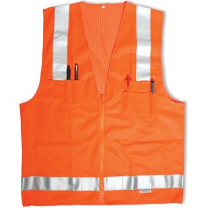 Help keep work crews safe with a surveyor's vest
