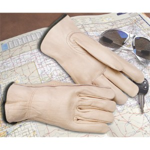 Work safely with NS® Grain Leather Driver's Gloves with Keystone Thumb