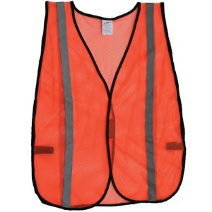 Cost-effective, high-visibility safety vest