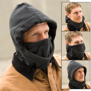 Guard against the cold with 4-in-1 adjustable winter head warmer
