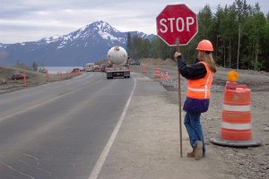 New study finds 68 percent of highway contractors had motor vehicles crash into their construction work zones