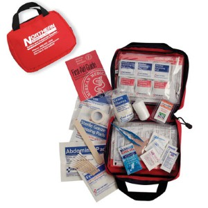 Soft pack convenience and first aid essentials