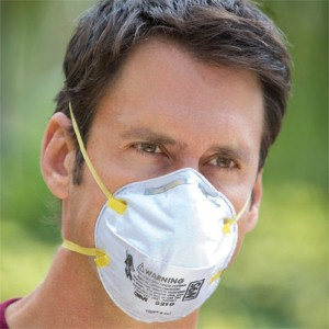 Protect yourself from harmful particulates with 3M's 8210 respirator
