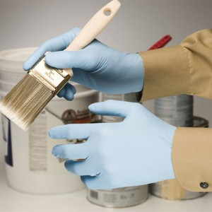 Showa® Best® disposable nitrile gloves offer snug fit and excellent grip