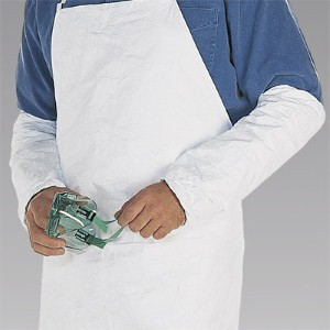 Maximize protection from liquid spills with protective Tyvek® sleeve