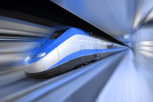 U.S. Transportation Secretary promotes vision for high-speed rail in California