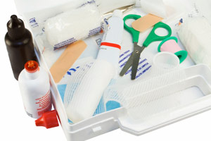 University details what to include in a farm first aid kit