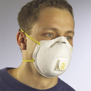 Use a 3M 8511 N95 Disposable Particulate Respirator to protect employees