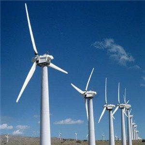 Wind energy production on the rise